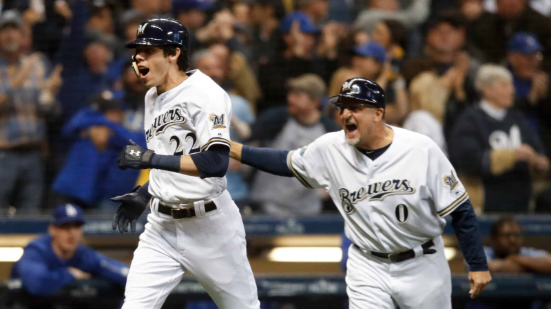 League Championship Series – Los Angeles Dodgers v Milwaukee Brewers – Game Seven